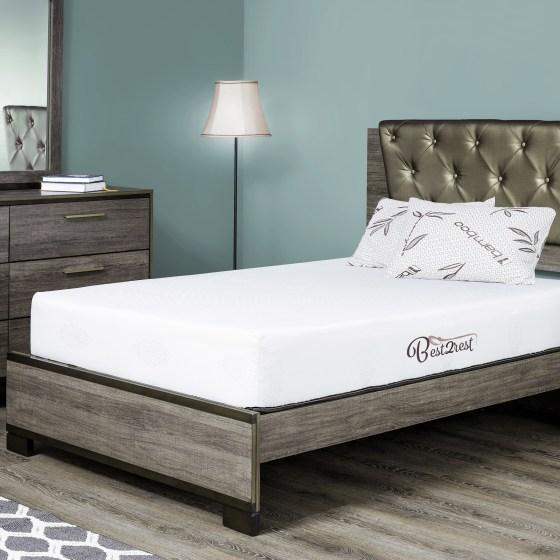 Best 2 Rest Memory Foam Twin Mattress 6 Inch Great For Daybed