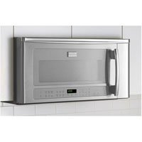 frigidaire fpbm189kf professional 1 8 cu ft stainless steel over the range microwave