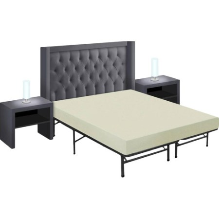 Best Price Quality 6 Memory Foam Mattress And Bed Frame Set