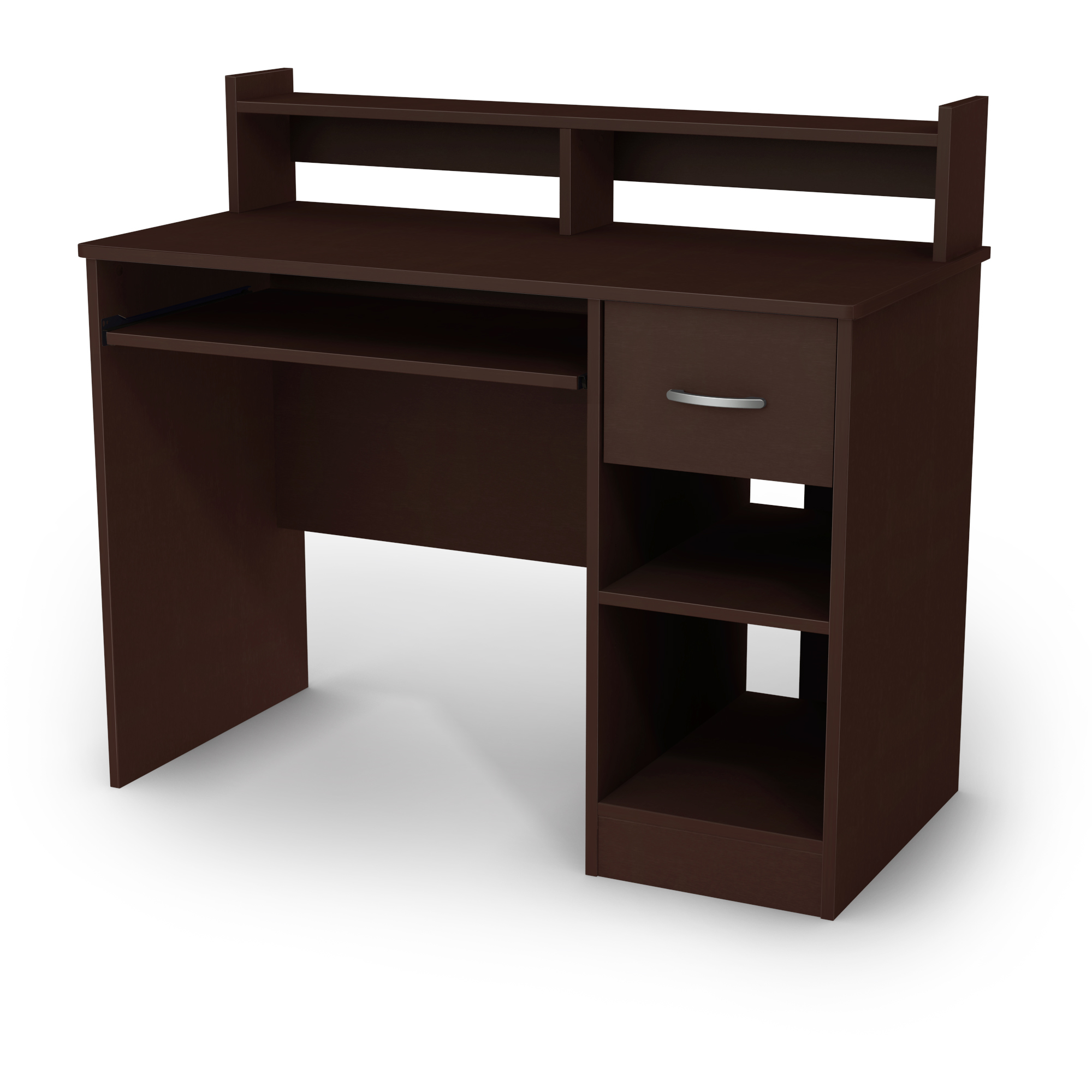 South Shore Smart Basics Small Desk With Keyboard Tray Multiple