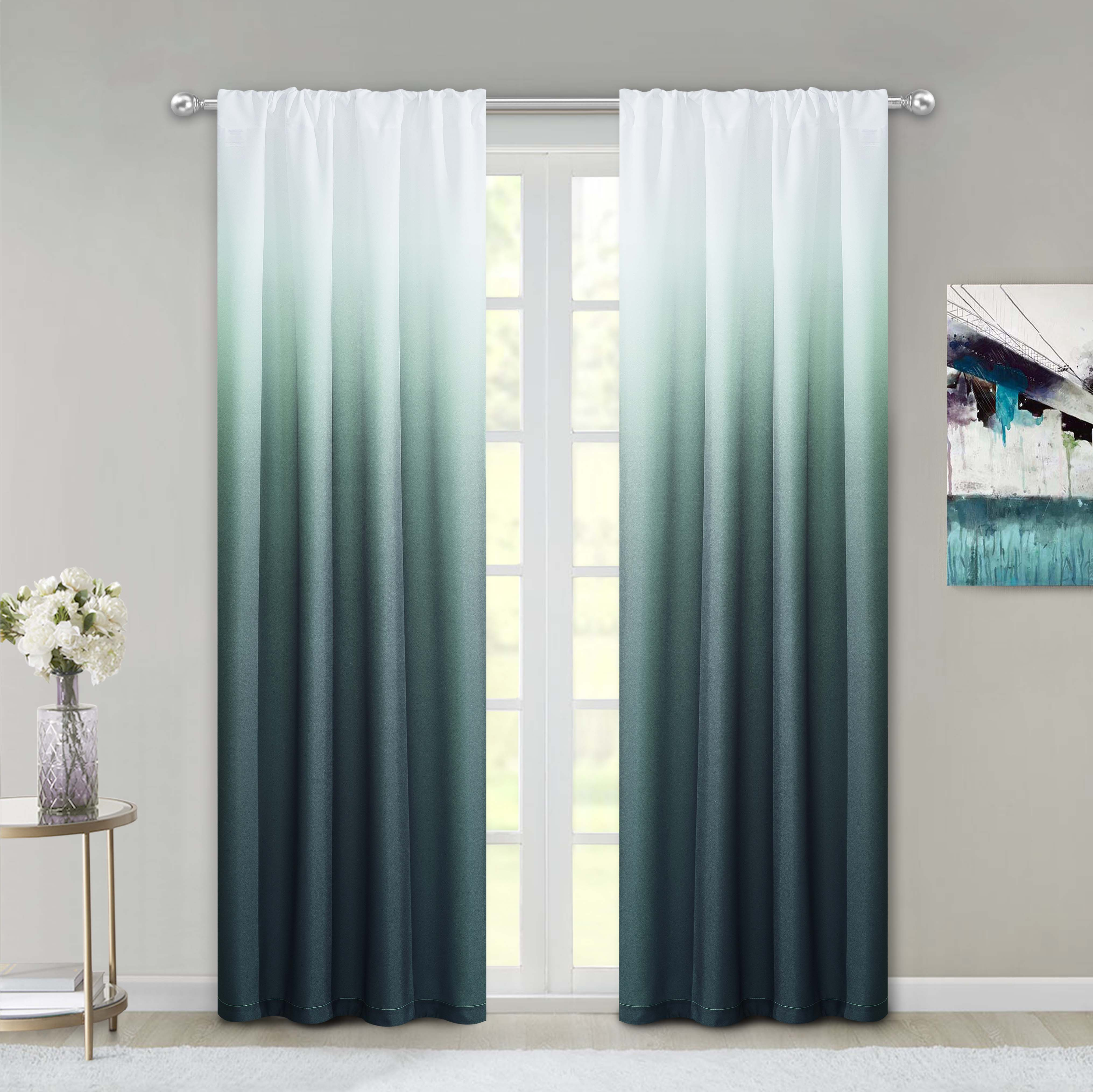 home kitchen 2 panels 30inch wide by 24inch long idealhouse airy blue tier curtains waffle woven textured short window curtain for cafe bathroom kitchen kids bedroom rod pocket curtains draperies curtains