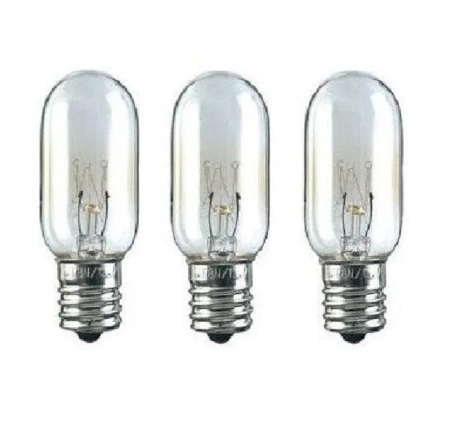 3 microwave light bulbs for ge wb36x10003 40w 130v walmart com