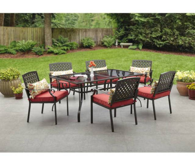Alexandria Crossing  Piece Patio Dining Set Seats