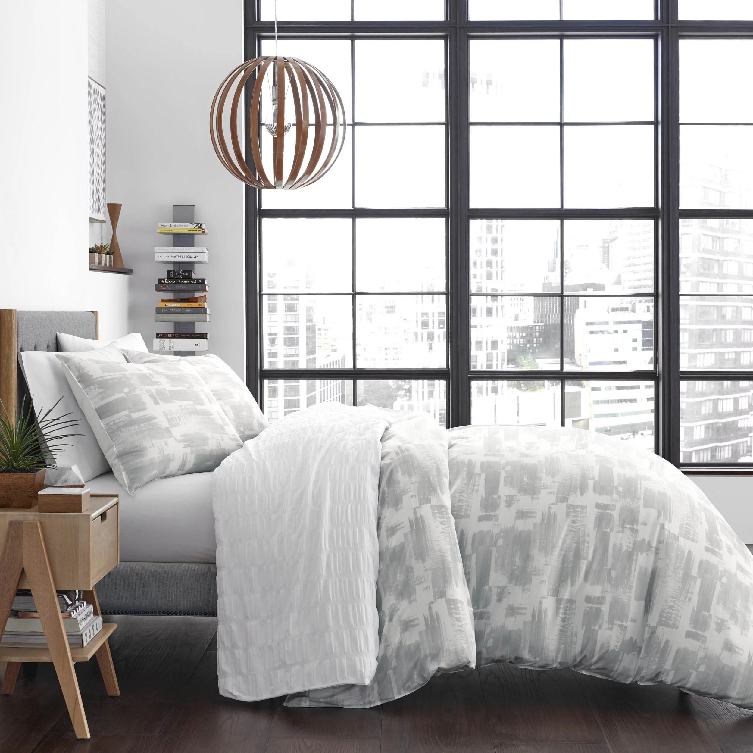 city scene aria light grey comforter set king walmart com