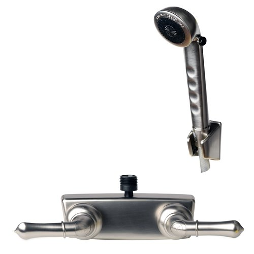 laguna brass rv motorhome replacement non metallic tub shower faucet diverter double handle