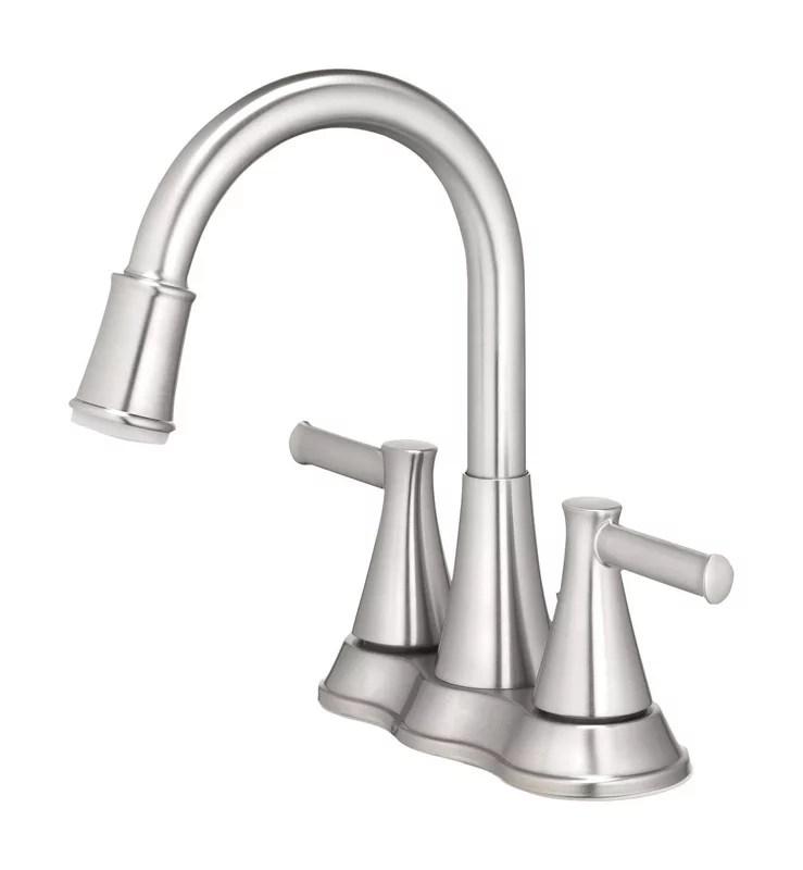oakbrook doria two handle led lavatory pop up faucet walmart com walmart com