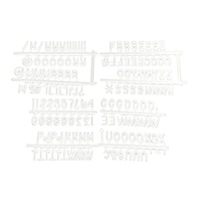 Lyumo Letter Board Felt 25cm