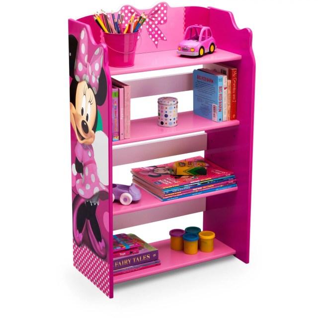 Delta Children Disney Minnie Mouse Bookshelf Walmart