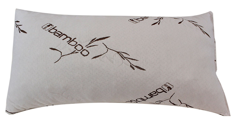 five star bamboo memory foam hypoallergenic pillow king size new walmart com