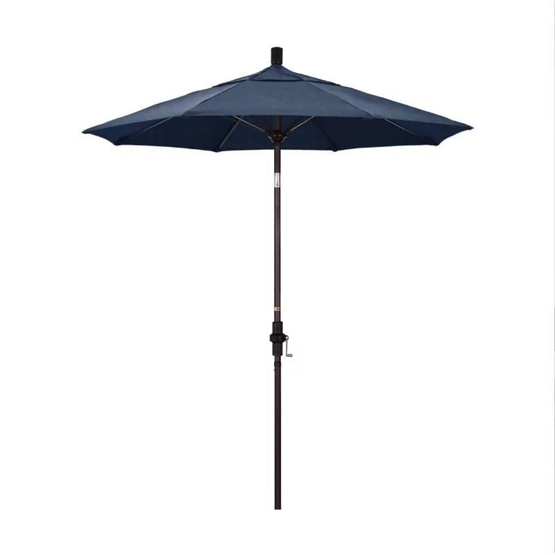 california umbrella 7 5 patio umbrella in spectrum indigo
