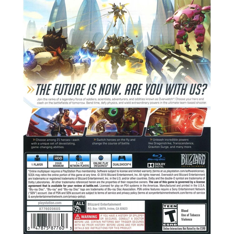 Overwatch Origins Edition Blizzard Entertainment PlayStation 4 047875877603 Best Action