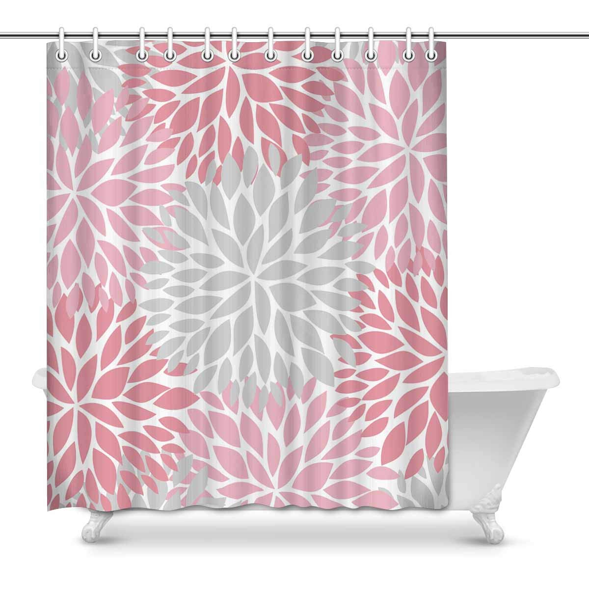 Home Bathroom Accessories Pink Japanese Cherry Blossom