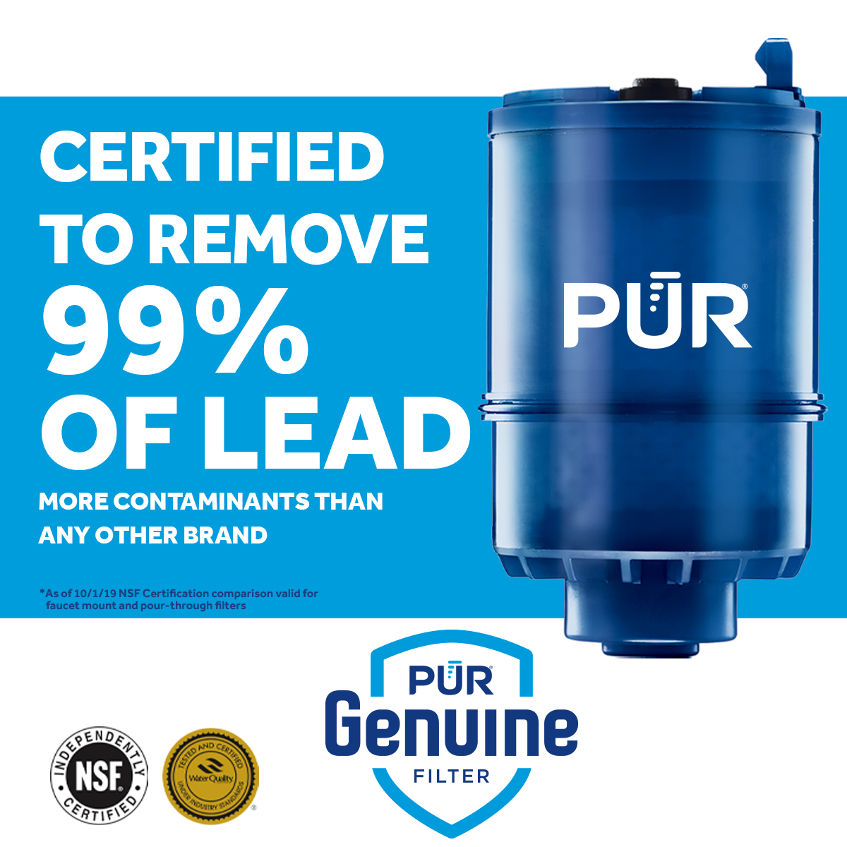pur advanced faucet mount mineralclear replacement water filter 2 pack