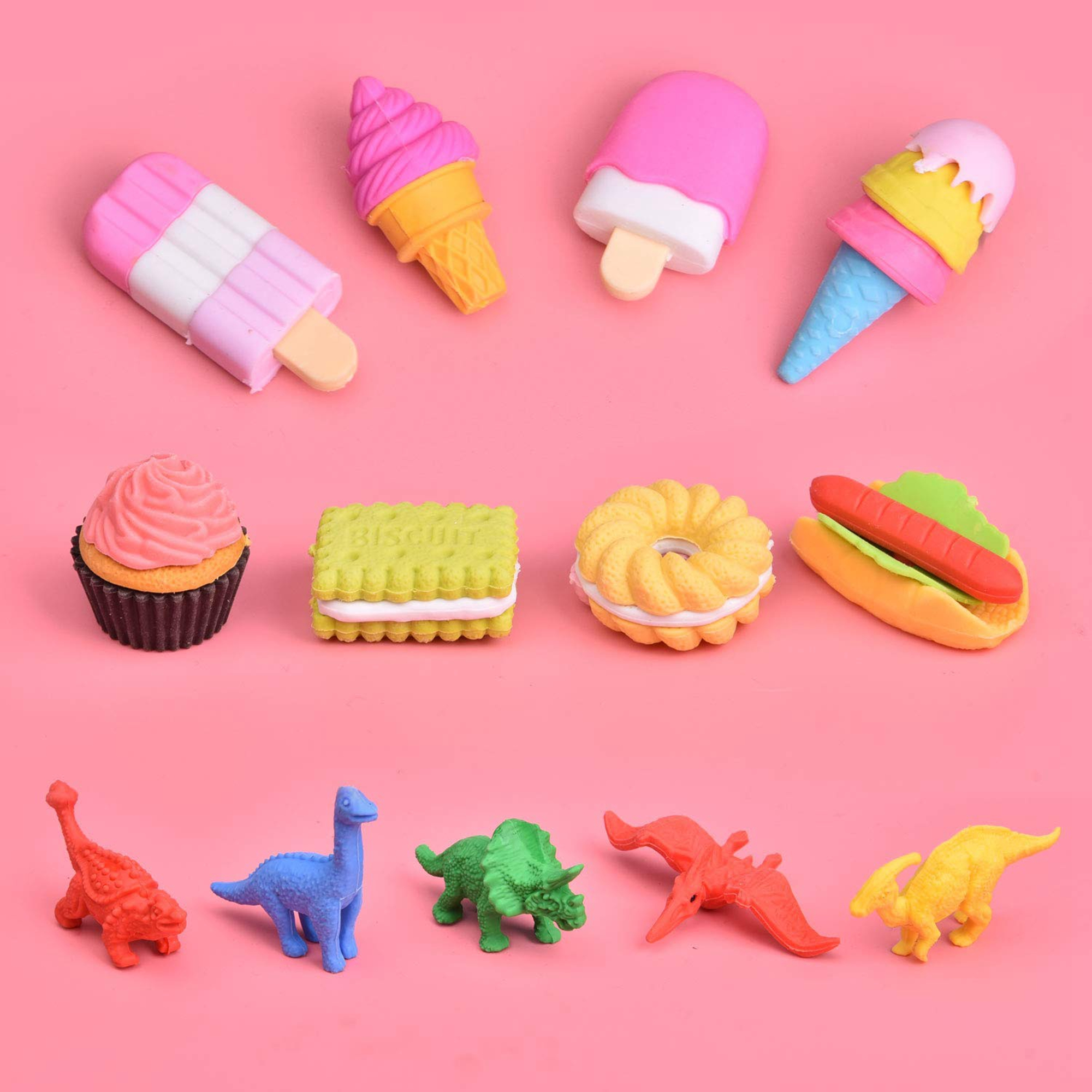 72ct pull apart 3d mini puzzle erasers party favors for kids 72ct