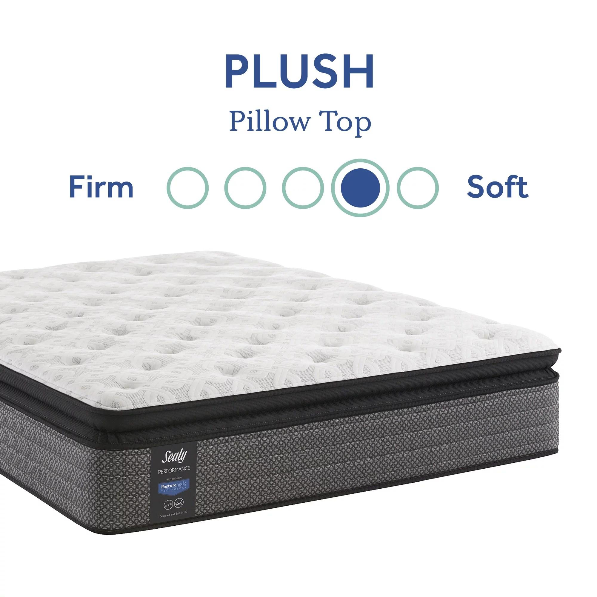 sealy response performance 14 plush pillow top innerspring mattress