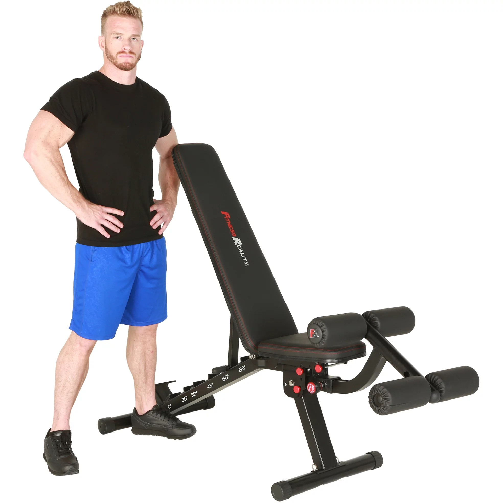 Fitness Reality 2000 Super Max Xl Adjustable Utility Fid