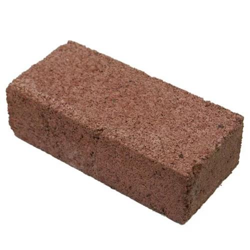 mutual materials patio paver 4x8x2 concrete brick red
