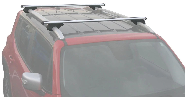 2015 2018 jeep renegade cross bar roof rack
