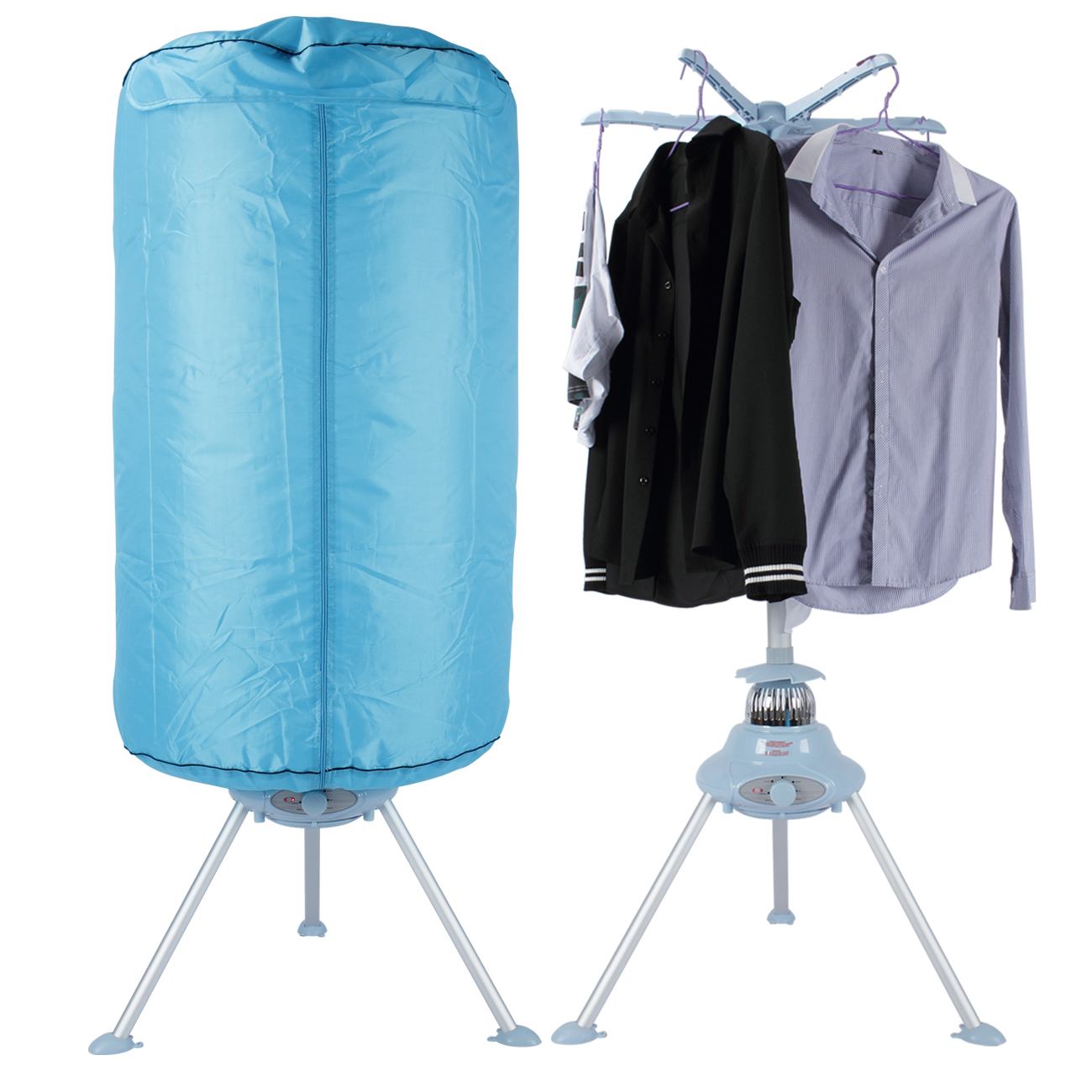 portable electric clothes dryer heater