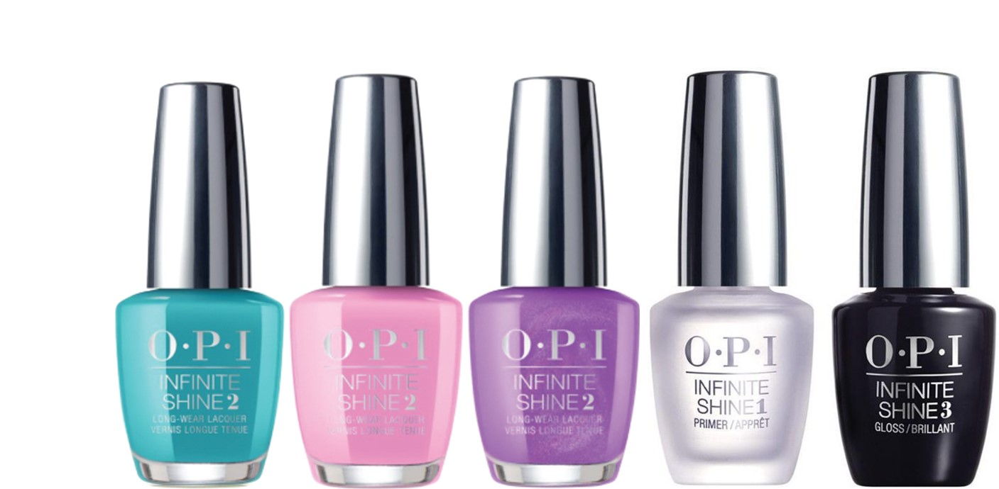 ( Value) OPI Infinite Shine Nail Polish Tokyo Collection Mini Set, 5 Bottles x 0.125 Fl Oz Each