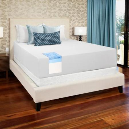 Select Luxury Medium Firm 14 Inch Full Size Gel Memory Foam Mattress