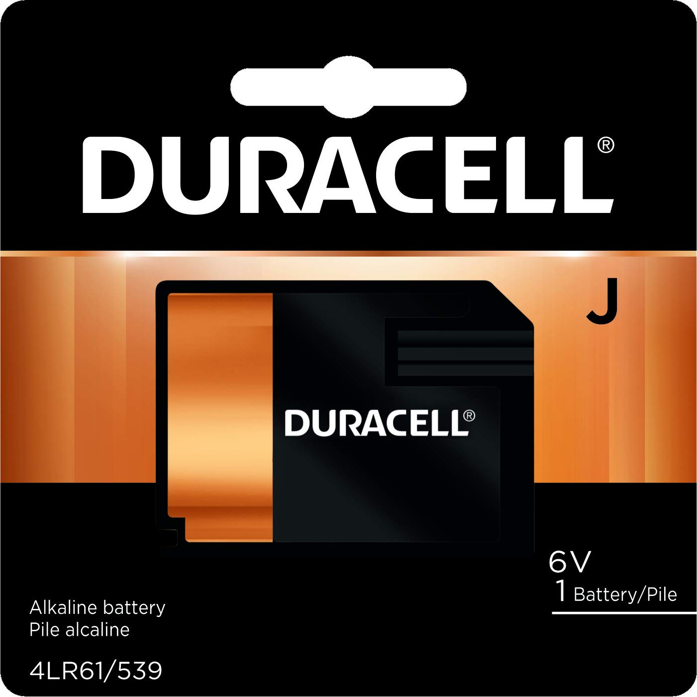 Duracell Battery Alkaline Size J 6V (Each)