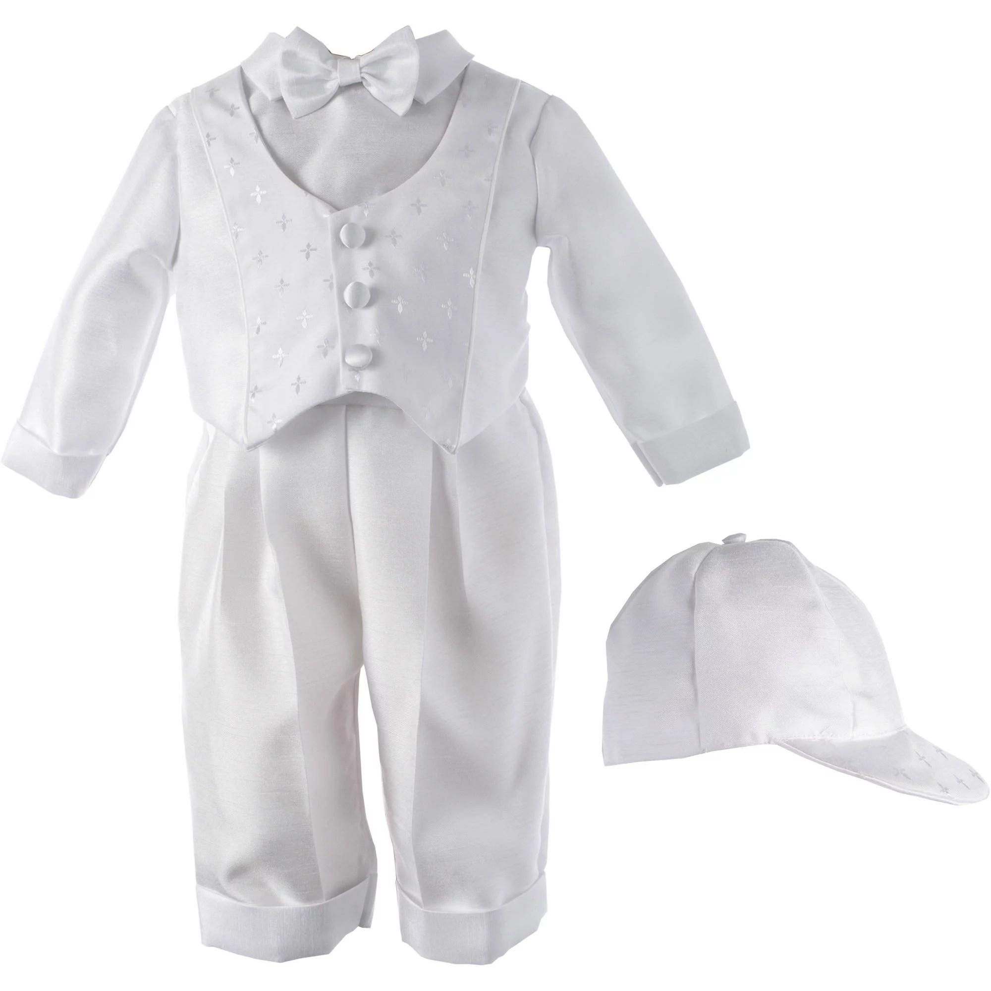 Newborn Baby Boy Christening Special Occasion Ringbearer