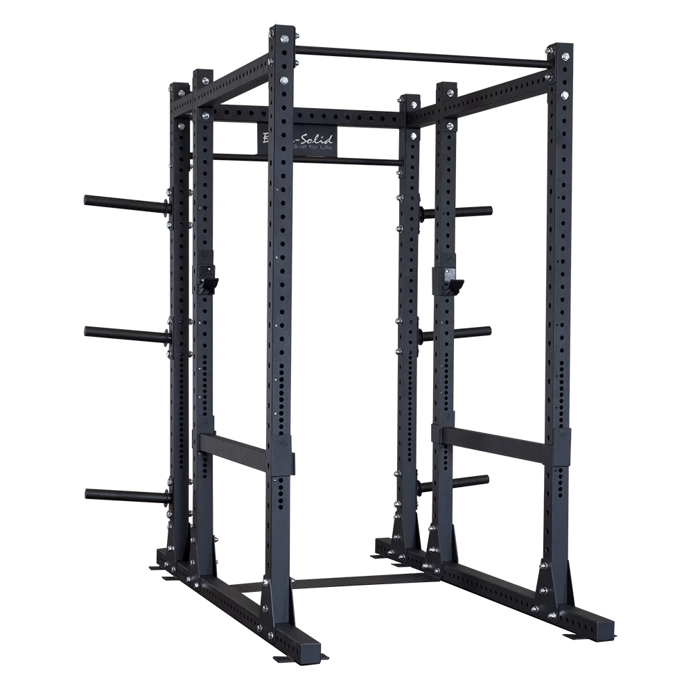 body solid spr1000back commercial power rack with extension