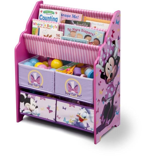 Disney Minnie Mouse Book and Toy Organizer Walmart