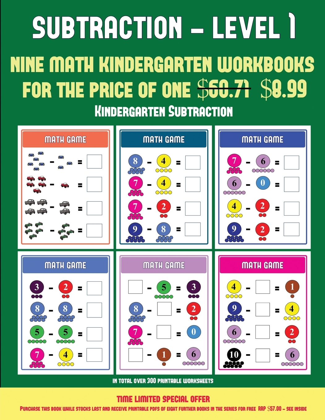 Kindergarten Subtraction Kindergarten Subtraction Taking