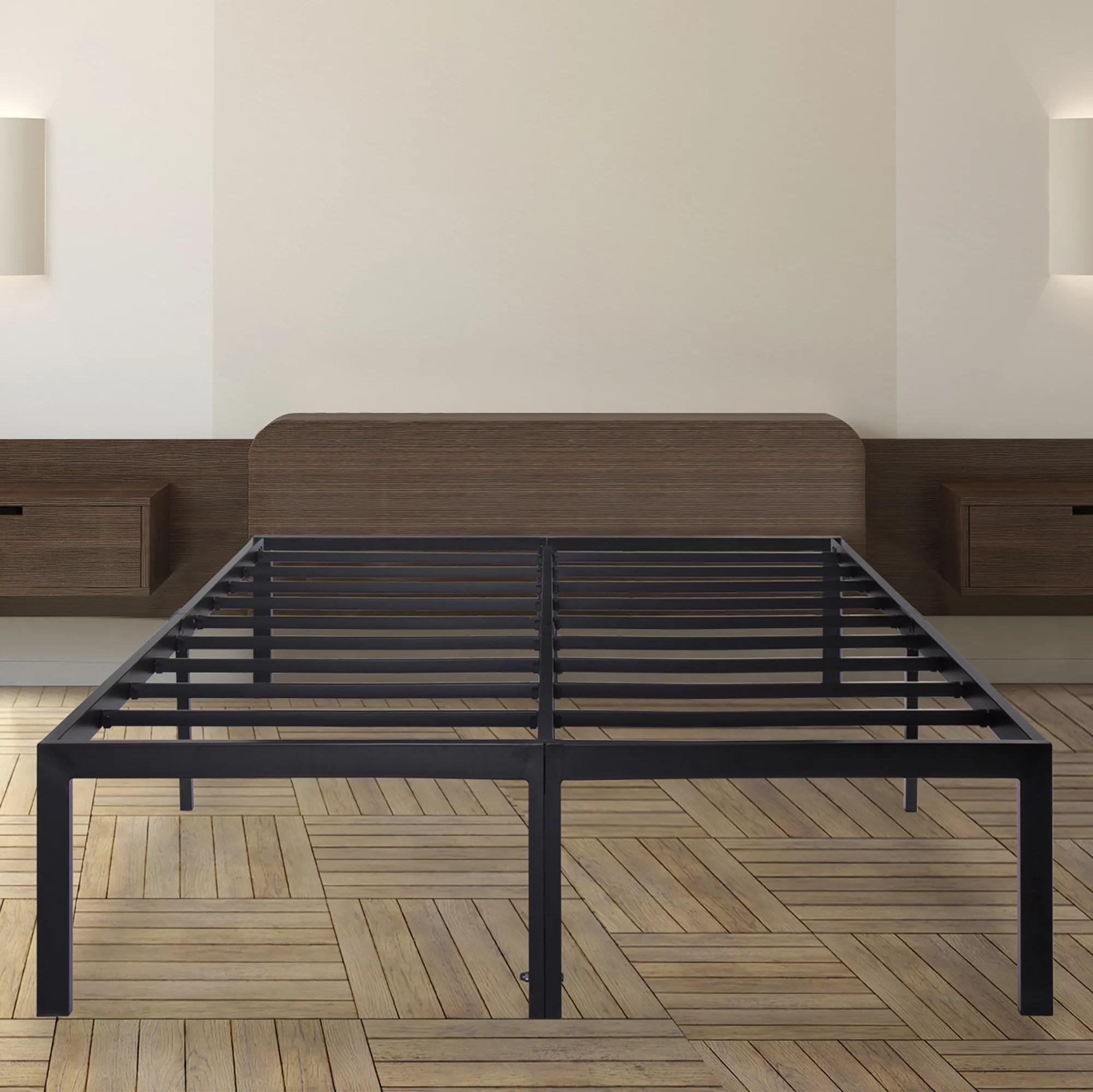 granrest 18 dura metal bed frame non slip california king walmart com