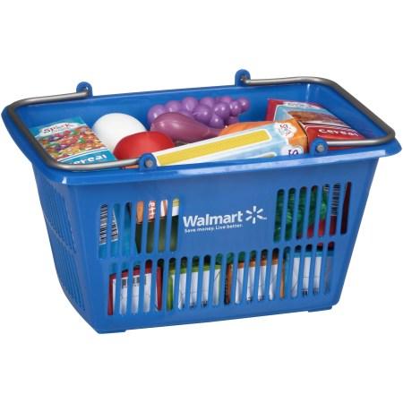 Spark Create Imagine™ Shopping Basket Play Food Set 25 pc. Pack