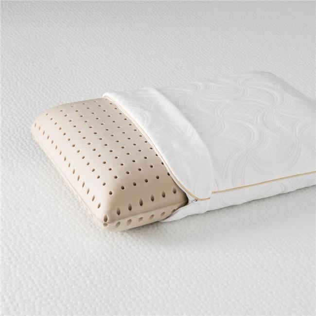 solace sleep p0010 solace sleep copper infused ventilated molded memory foam pillow with 400 gsm cooling ice fabric cover
