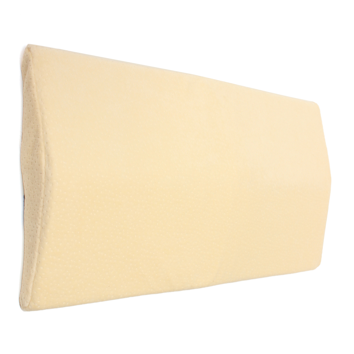 ergonomic lumbar pillow 100 pure memory foam back cushion lumbar support for lower back pain