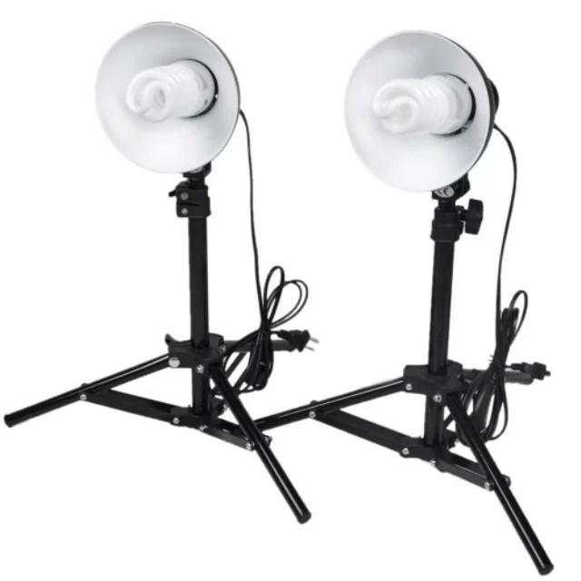 cowboystudio photography table top photo studio lighting kit 2 light kit
