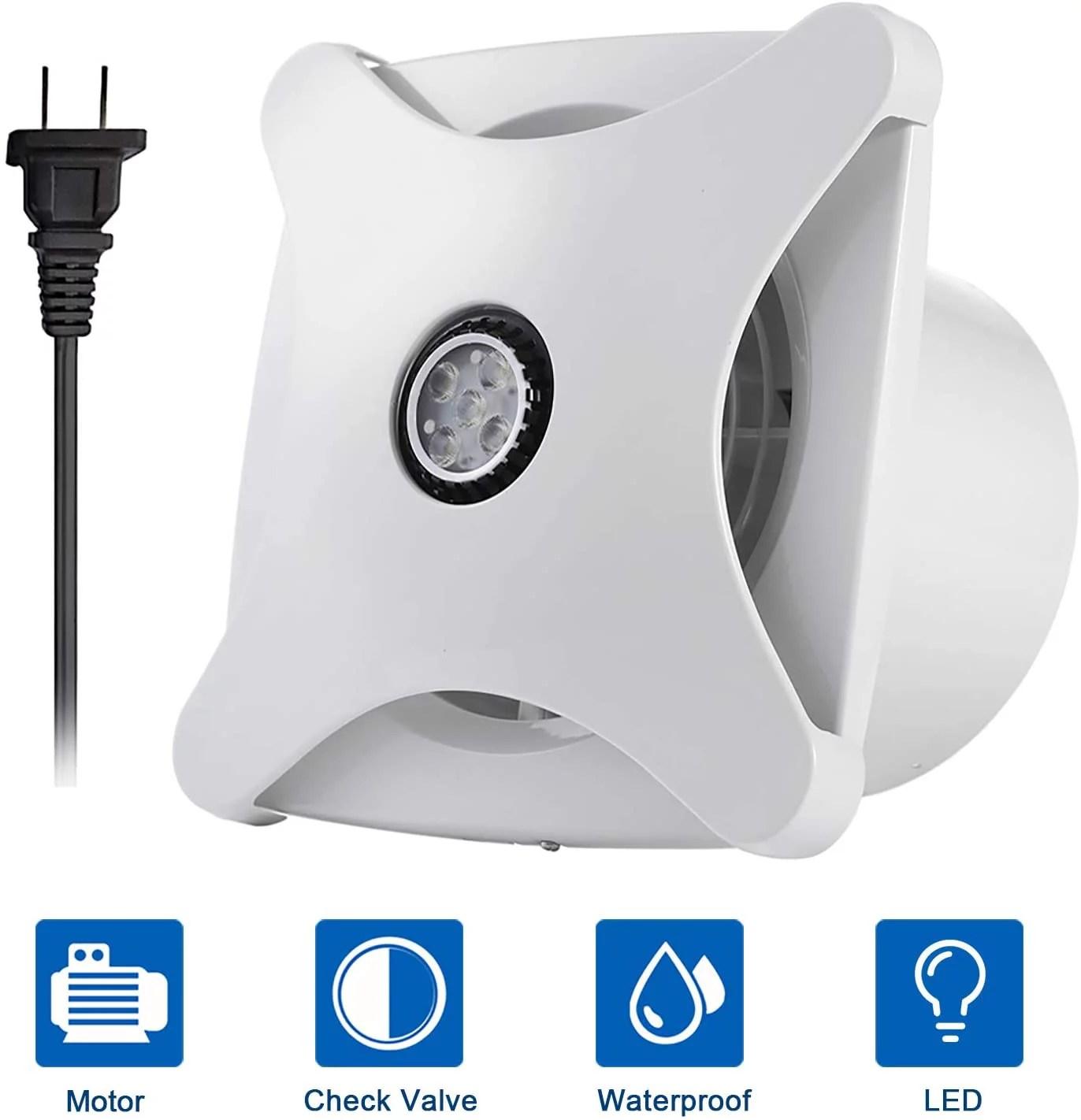 hon guan 6 home ventilation fan bathroom garage exhaust fan ceiling and wall mount fan for kitchen bathroom super
