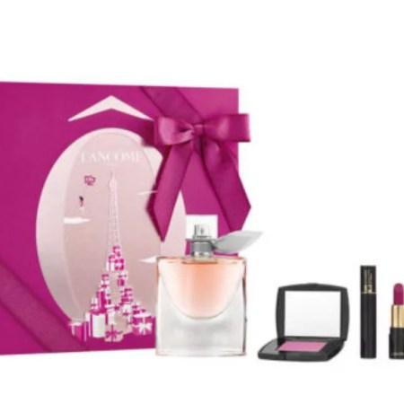 Lancome Perfume and Makeup Gift Set for Women- 4 piece