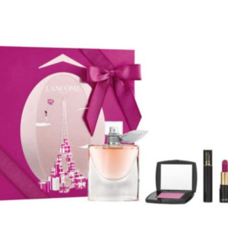 Lancome Perfume and Makeup Gift Set for Women- 4 piece