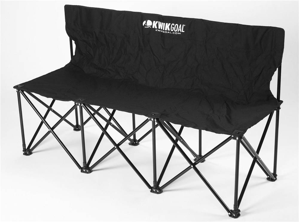 3 Seat Portable Kwik Bench In Black Walmart Com
