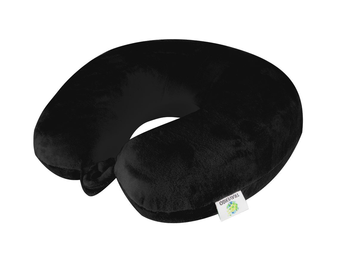 memory foam neck pillow and support