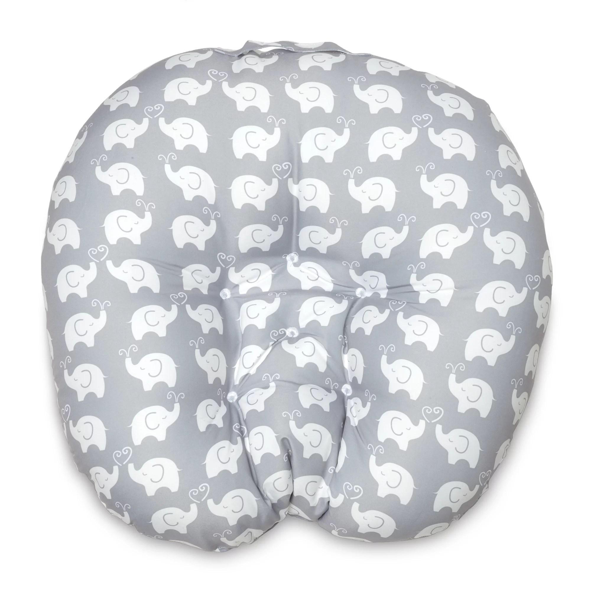 boppy baby original newborn lounger elephant love