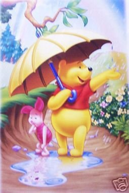 disney winnie the pooh piglet poster print new 24x36
