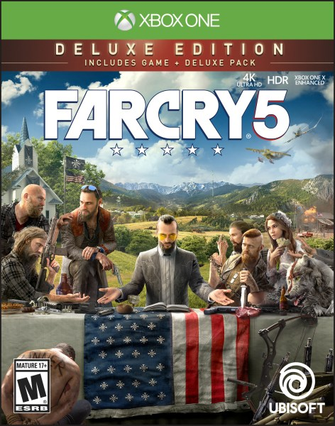 Far Cry 5 Deluxe Edition  Ubisoft  Xbox One  887256028992   Walmart com