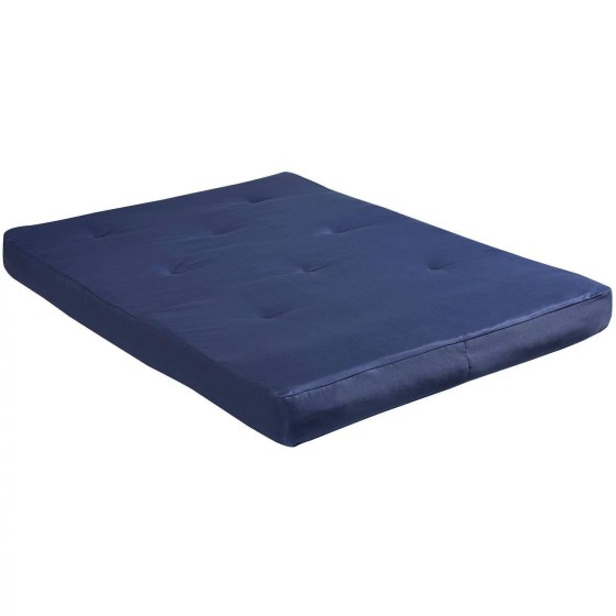 Dhp 8 Futon Mattress Full Size Navy Blue