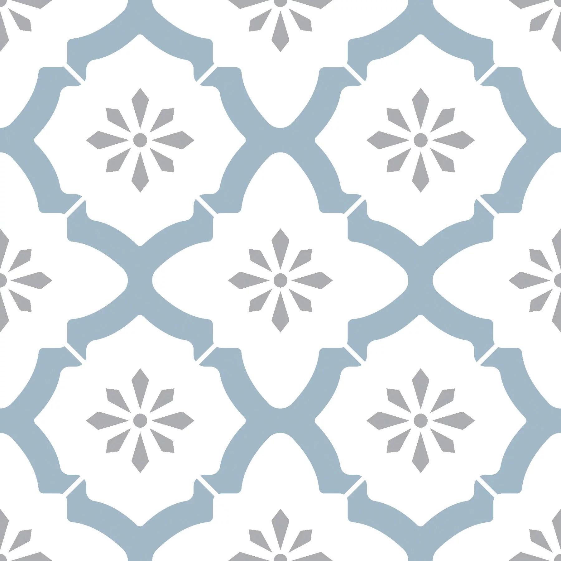 floorpops alfama 12 in x 12 in peel and stick virgin vinyl floor tiles 10 pack