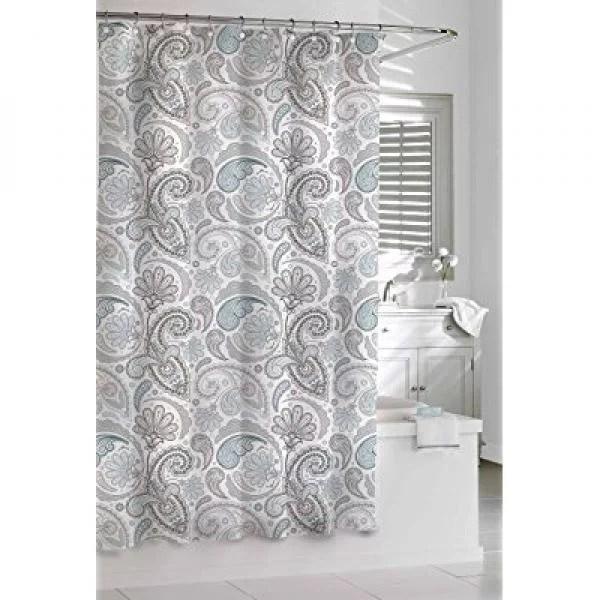 https www walmart com ip kassatex sps 115 bgr paisley shower curtain blue grey 72 by 72 inch 225409037