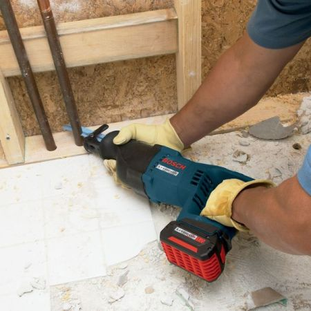 BOSCH CRS180BN Cordless Reciprocating Saw,18V,D-Handle