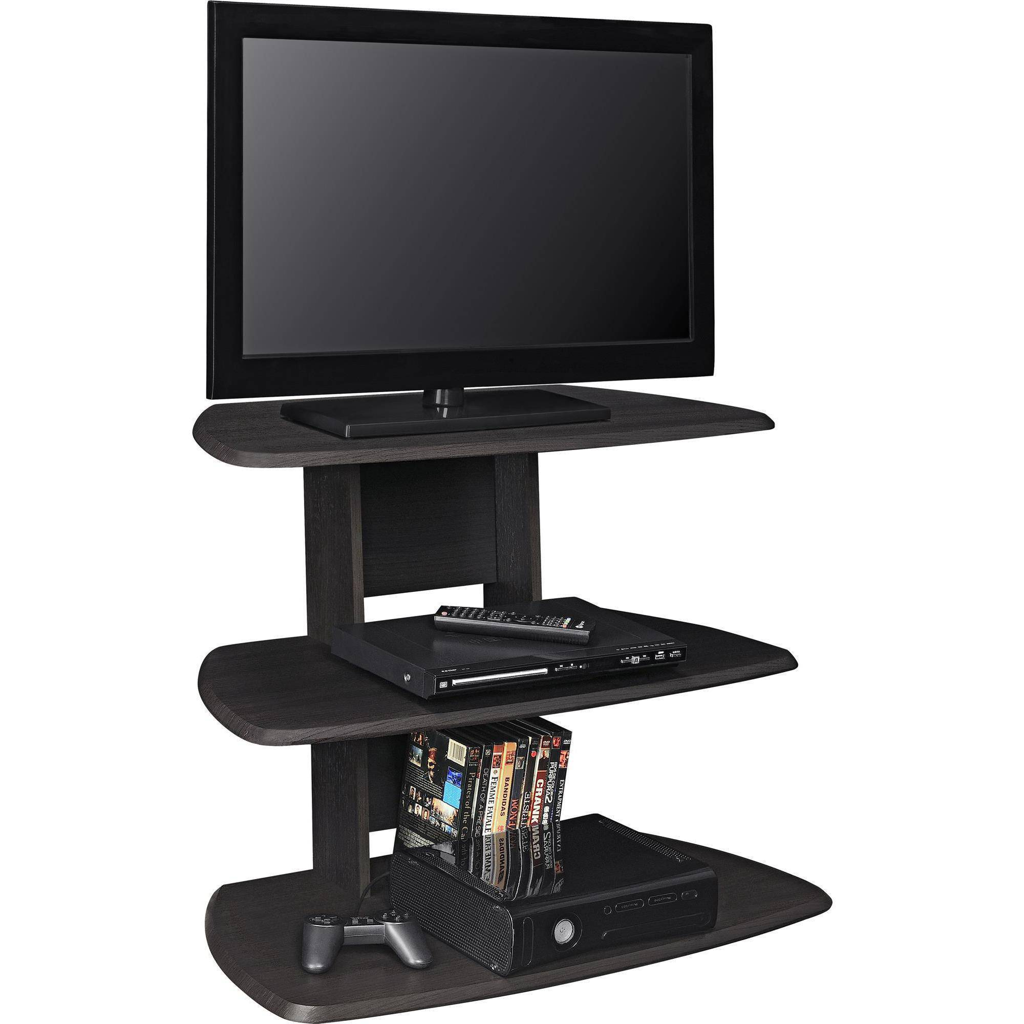 TV Stand Table Up To 32 Inch Espresso Bedroom Living Room