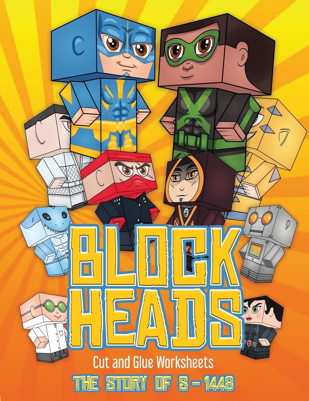 Cut And Glue Worksheets Block Heads