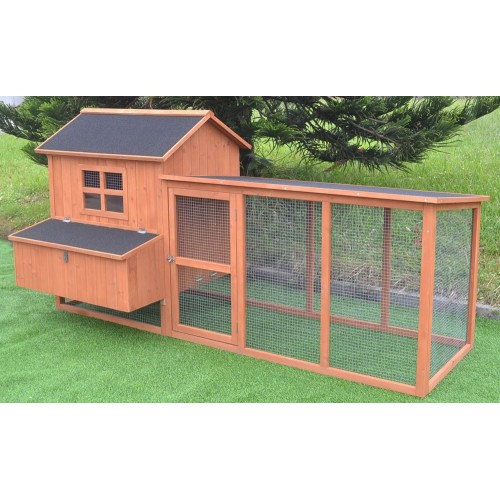 7 2 chicken coop running cage backyard poultry hen house